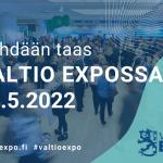 Merkitse päivä kalenteriin: seuraava Valtio Expo järjestetään 10.5.2022