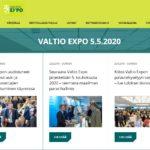 Valtio Expon uudistuneet verkkosivut auki ja näytteilleasettajien ilmoittautuminen käynnissä