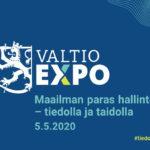 Tervetuloa Valtio Expoon 5.5.2020 – ilmoittautuminen on auki!