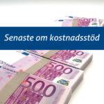 Pressmeddelande: Kostnadsstöd har hittills utbetalas för nästan 23 miljoner euro – nu är det dags att ansöka