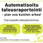 Valtiokonttori mukana Kuntamarkkinoilla 9.-10.9.2020 – tervetuloa kuulemaan tietoiskumme!
