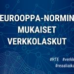 Eurooppa-normin mukaisten verkkolaskujen oikeellisuuden tarkistus alkaa huhtikuussa