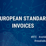 Validation of the correctness of e-invoices that are compliant with the European Standard starts in April