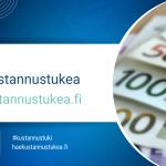 Ansökan om kostnadsstöd från Statskontoret har börjat