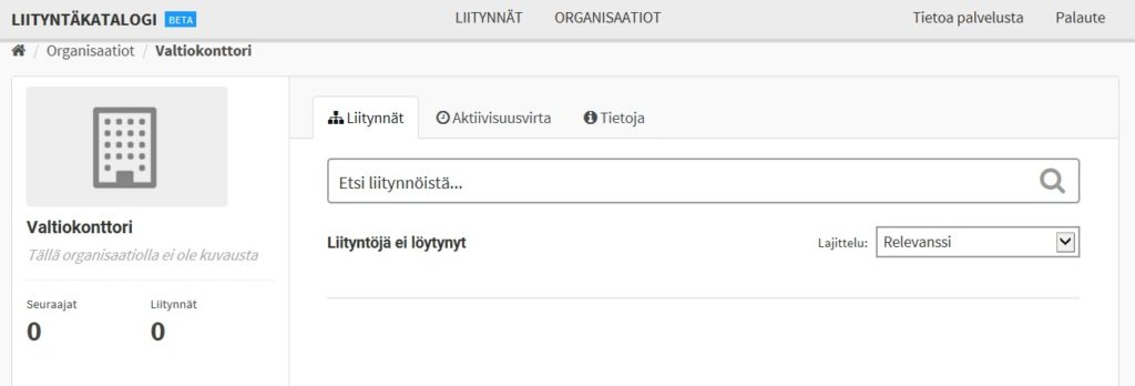 API catalogue