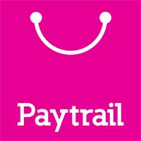 Paytrailin pinkki logo.