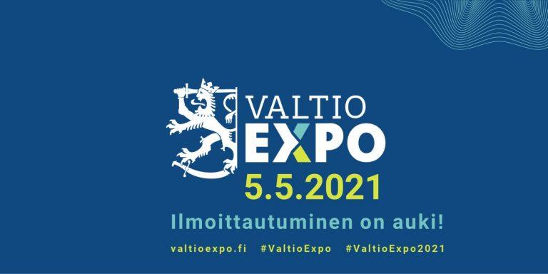 Valtio Expo 5.5.2021 Ilmoittautuminen on auki!