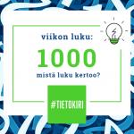 Kieku-raportteja hyödynsi tilinpäätöskauden aikana enimmillään 1000 samanaikaista käyttäjää